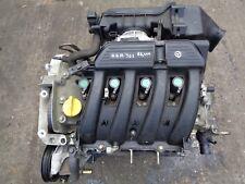 Renault Scenic + Megane 1999-2003 1.6 16v Auto  Engine 68,000 miles.Code K4M-701