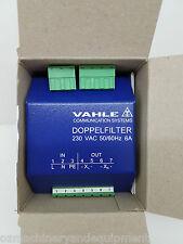 VAHLE Powercom Double Filter 0910080