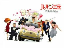 Japanese Anime Lupin the Third Part Iv Art Collection Book Japanese Tracking