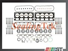 Fit 04-09 GM 6.0L V8 Vortec Engine Cylinder Head Gasket Set w/ Bolts LQ4 LQ9 LS2