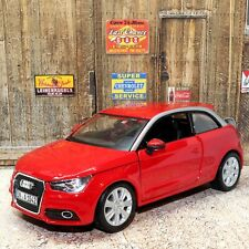 Audi A1 Red 1:24 Scale Highly Detailed Die-cast Model Toy Car Bburago