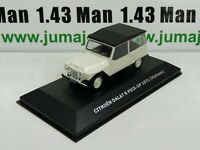 CVW6B 1/43 IXO Direkt CITROËN 2cv of the world : DALAT R Pick-up 1971