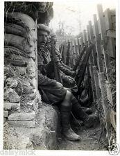 British Army 9th Highlanders & Dogras France 1915 World War 1, 5x4 Inch Photo bl