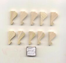 Corbel #7 brace support miniature architectural dollhouse 10pc 1/12 scale MW1127