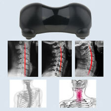 Neck Support Therapy Pillow Cervical Traction Stretcher Relieve Pain, Black