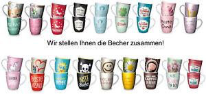 Restposten 12 Becher La Vida VK Wert € 83,40 NEUWARE Sonderposten Kaffeebecher