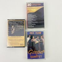 Lot of 3 Cassette Tapes Gospel Capella Hymns Christian Music B J Thomas