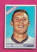 1966 TOPPS # 462 ANGELS  BOB RODGERS  EX-MT CARD (INV# C2653)