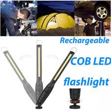 COB LED Rechargeable Lampe torche puissante Magnétique Lampe de poche tactique
