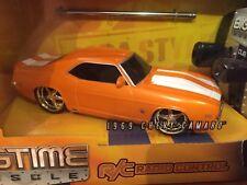 Jada Toys Big time Muscle 1:43 R/C 27MHZz 1969 Chevrolet Camaro SS Item 83014