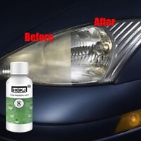 Car Headlight Lens Restoration Repair Kit Plastic Light Polishing Cleaner Set