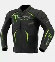 Brand New  Monster Customized  Biker  Motorbike Motorcycle Racing Leather Jacket