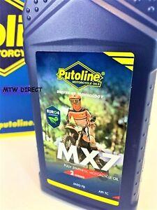 Putoline MX7 2-Stroke Motocross Mx Enduro Bike Oil 1L