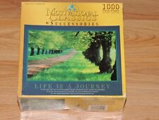"""LIFE IS A JOURNEY JIGSAW PUZZLE 1000 PIECES 20.5 X 26"""" MOTIVATIONAL CLASSICS"""