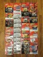 Johnny Lightning Lot 33 Cars Zingers Black W/ Flames Monopoly 1:64 Die Cast