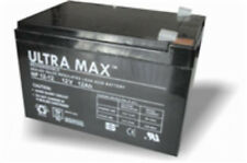 Ultramax 12V 12Ah equiv. Battery for Black & Decker GRC730 Cordless Mower