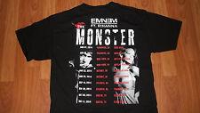 Cool Monster 2014 Rap Hip Hop EMINEM & RIHANNA Concert T-Shirt M mens womens