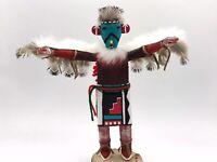"Native American Kachina Doll ""Eagle"" Handmade Indian Signed"