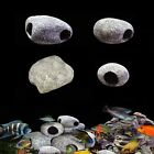 4 Size Aquarium Fish Tank Cichlid Stone Ceramic Rock Cave Ornament Decoration