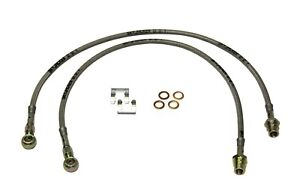 Skyjacker FBL48 Stainless Steel Brake Line Front Fits 04-12 Canyon Colorado