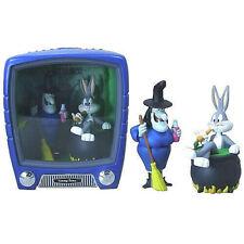 Looney Tunes BUGS BUNNY & WITCH HAZEL 2 PVC figures 15cm Funko
