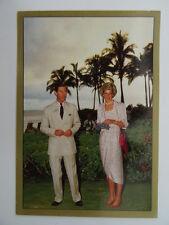 The Royal Family Sticker Album Panini 1988 - Sticker No.36 -Charles,Diana,Hawaii
