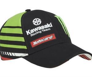 Original Kawasaki Cap WSBK 21 Kappe 2021 grün schwarz Schirmmütze Cappie NEU