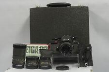 Leica R3 Safari Body with 4x Lenses Outfit