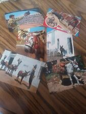 6 Vintage 1960's Bull Fighter & Burro Post Cards / Postcards from Spain (Unused)