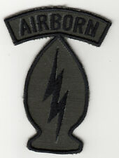 Wartime Thai Made Unidentified Airborne Patch