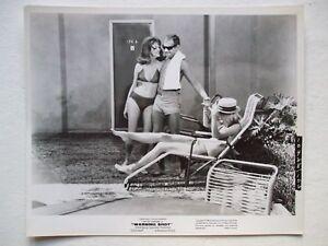 ORIGINAL PROMO PHOTO JOAN COLLINS DAVID JANSSEN - WARNING SHOT 1966 SEXY MOVIE