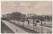 Ak Posen Haupt Bahnhof Postamt W3 St. Lazarus polska 1915 Feldpost ! (A2120