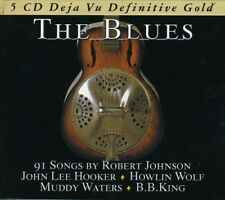 THE BLUES-DEFINITIVE GOLD - B.B. KING, ROBERT JOHNSON - BOX-SET 5 CD NEUF
