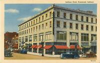 Postcard Indiana Hotel, Hammond, Indiana