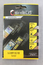 BLACKBERRY BOLD 9000 MAXIMUM ZAGG MILITARY GRADE Invisible Protective Shield NEW