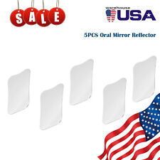 1 5 Pcs Dental Orthodontic Intra Oral Reflector Mirror Steel Reflector Style 10