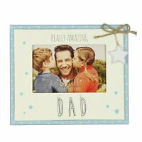 "Love Life Really Amazing Dad Photo Frame Suits 6"" x 4"" Photos"
