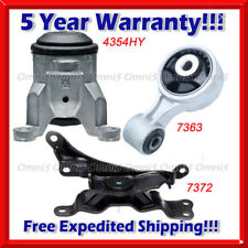 K730 Fit 2009-2014 Nissan Murano 3.5L, Engine Motor & Trans Mount Set 3PCS