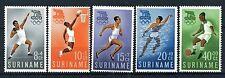 SURINAME 349/353 MNH** 1960 - Olympische spelen Rome.