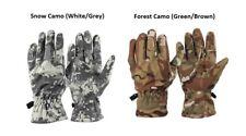 GLOVES ARMY CAMO / Snow or Forest Camo / fleece gloves / winter gloves