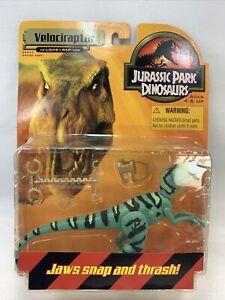 Velociraptor blue Jurassic Park Dinosaurs 99 Hasbro MOC New Figure complete