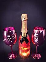 Moet Chandon Nectar Imperial Rose Champagner N.I.R. 0,75l 12% Vol+ 2 Rosé Gläser
