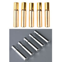 10Pcs 10mL Empty Essential Oils Roll on Glass Bottle w/ Steel Roller Balls