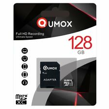 QUMOX 128GB MICRO SD MEMORY CARD CLASS 10 UHS-I 128 GB R