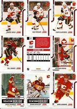 2011-12 Panini Score Glossy Calgary Flames Complete Master Team Set (18)