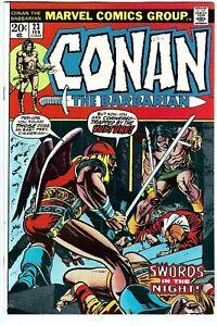 Conan the Barbarian Vol 1 23 NM- NM-