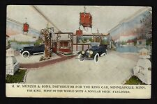"Minneapolis Mn ""R.W. Munzer & Sons Sales For The King Automobile Car"