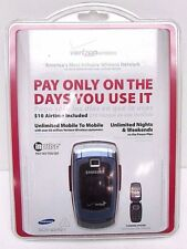 Samsung Snap SCH-U340 Verizon Inpulse Pay As You Go Cell Phone NEW