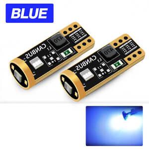 T10 168 194 LED Courtesy Lights For Dodge Ram 1500 2500 3500 1994-2002 Blue