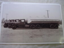 1930 - 31 FORD TRUCK AA  TANKER FLEET    11 X 17  PHOTO  PICTURE